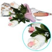 Bouquet Con Fiore Pisello e Scatola