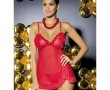 JOANNA CHEMISE RED