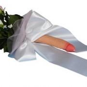 Bouquet Classic Con Grande Fiocco Raso
