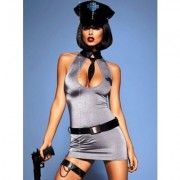 POLICE DRESS SET 5 PEZZI-OBSESSIVE