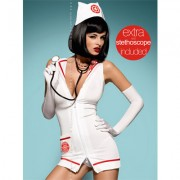 COSTUME INFERMIERA EMERGENCY DRESS
