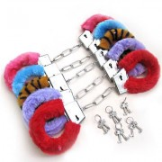 MANETTE SEXY CON PELUCHE-PLUS HANDCUFFS