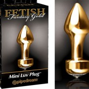 FF GOLD BUTT PLUG