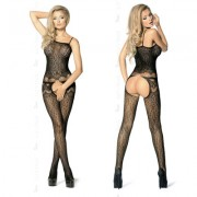 LETS DUCK BODYSTOCKING DOVE BLACK