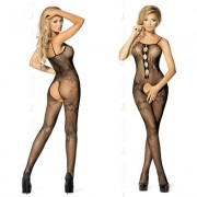 LET'S DUCK BODYSTOCKING TEMPT BLACK