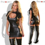 SEXY DRESS BLACK BY PROVOCATIVE