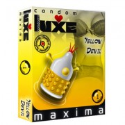 LUXE CONDOMS YELLOW DEVIL