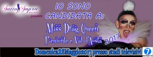 LILLY CANDIDATA A MISS DRAG QUEEN PIEMONTE E VALLE D'AOSTA 2017