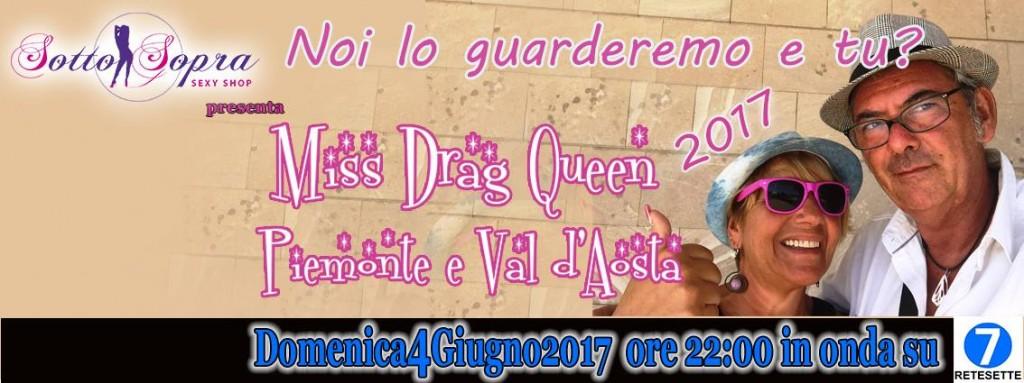 Rete Sette Miss Drag Queen Piemonte e Val d'Aosta 2017