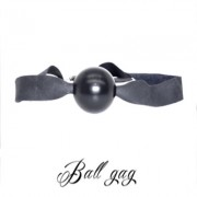 BALL GAG-MORSO IN LEGNO-BDSM-FETISH LOVE EASY BLACK