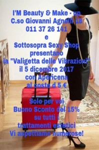 I'M BEAUTY & MAKE-UP e SOTTOSOPRA SEXY SHOP
