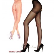 CALZE APERTE MUSIC LEGS