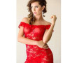 CHEMISE VERONICA ROSSO